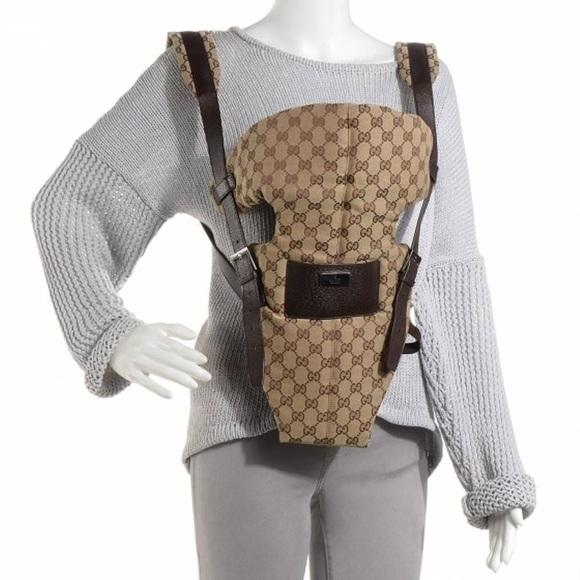 Gucci Handbags - Gucci Baby Carrier